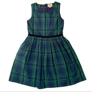 Johnnie B Girls 9-10 Dress Holiday Plaid Occasion
